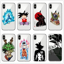 Phone Cases Dragon Ball DragonBall z Soft TPU Case For iPhone X 10 goku Cover for 11 11PRO MAX SE 6 6S 8 8Plus