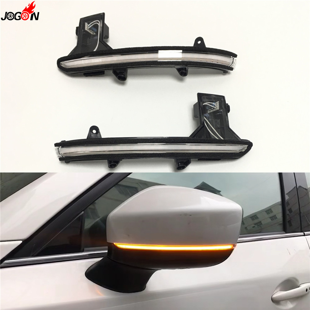 For Mazda CX-5 CX5 KF 2017 2018 CX-8 CX-9 CX9 Dynamic Turn Signal LED Side Rearview Mirror Indicator Sequential Blinker LightFor Mazda CX-5 CX5 KF 2017 2018 CX-8 CX-9 CX9 Dynamic Turn Signal LED Side Rearview Mirror Indicator Sequential Blinker Light