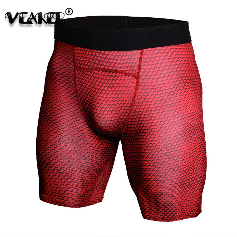 Skinny Shorts Compression Slim-Fit Gyms Male Fast-Dry Men's S-3XL