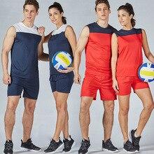 Индивидуальные мужские и женские наборы для волейбола, спортивная одежда для футбола, футбола, волейбола, майки, шорты, униформа для тренировок, костюм для бега