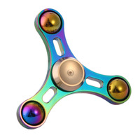 EDC Toys Triangular Hand Spinner Metal Professional Fidget Spinner Autism ADHD Aniti-Stress Adult Toys