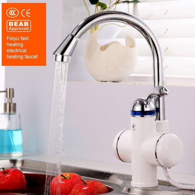 feiyu sans réservoir chauffe eau Électrique de cuisine robinet d ... - Robinet Eau Bouillante Instantanee