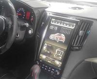 LaiQi 12.1 Quadcore Car DVD player 1280x800 Tesla style Vertical Screen 32GB ROM Stereo GPS Navigation DVD for infiniti G37
