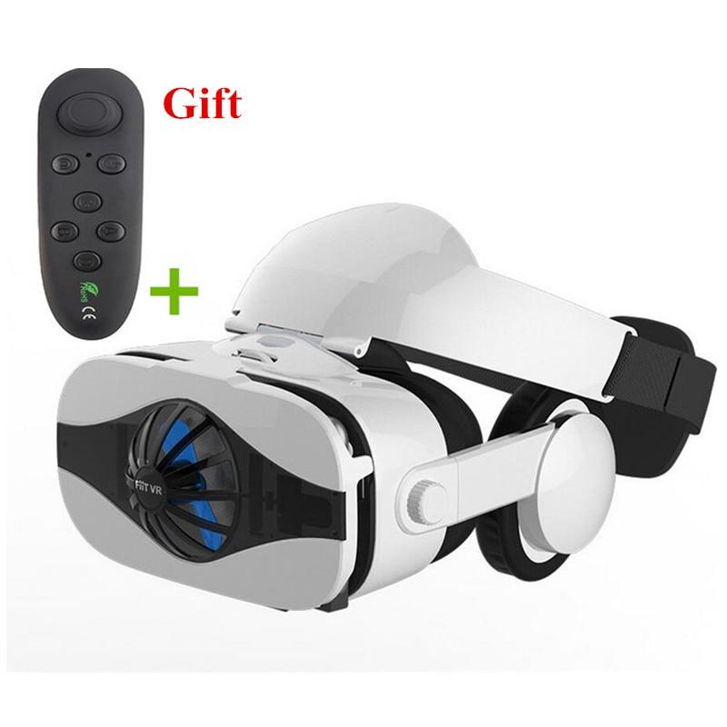 Virtual Reality Glasses 3D VR Glasses Box Headset Viewer Eye Trave Joystick for Phone Oculus Rift Google Cardboard PK Htc Vive vr virtual reality glasses box anti bluelight 3d video movie vr glasses len virtual google cardboard for htc vive android iphone