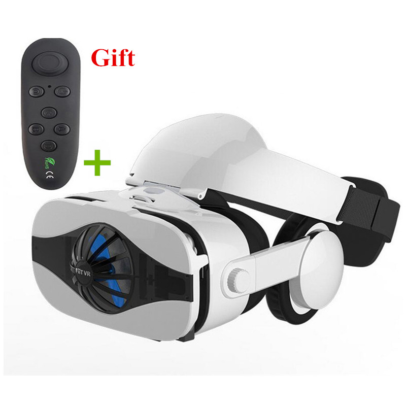 Virtual Reality Glasses 3D VR Glasses VR Headset Viewer Eye Trave Joystick for Phone Spe ...