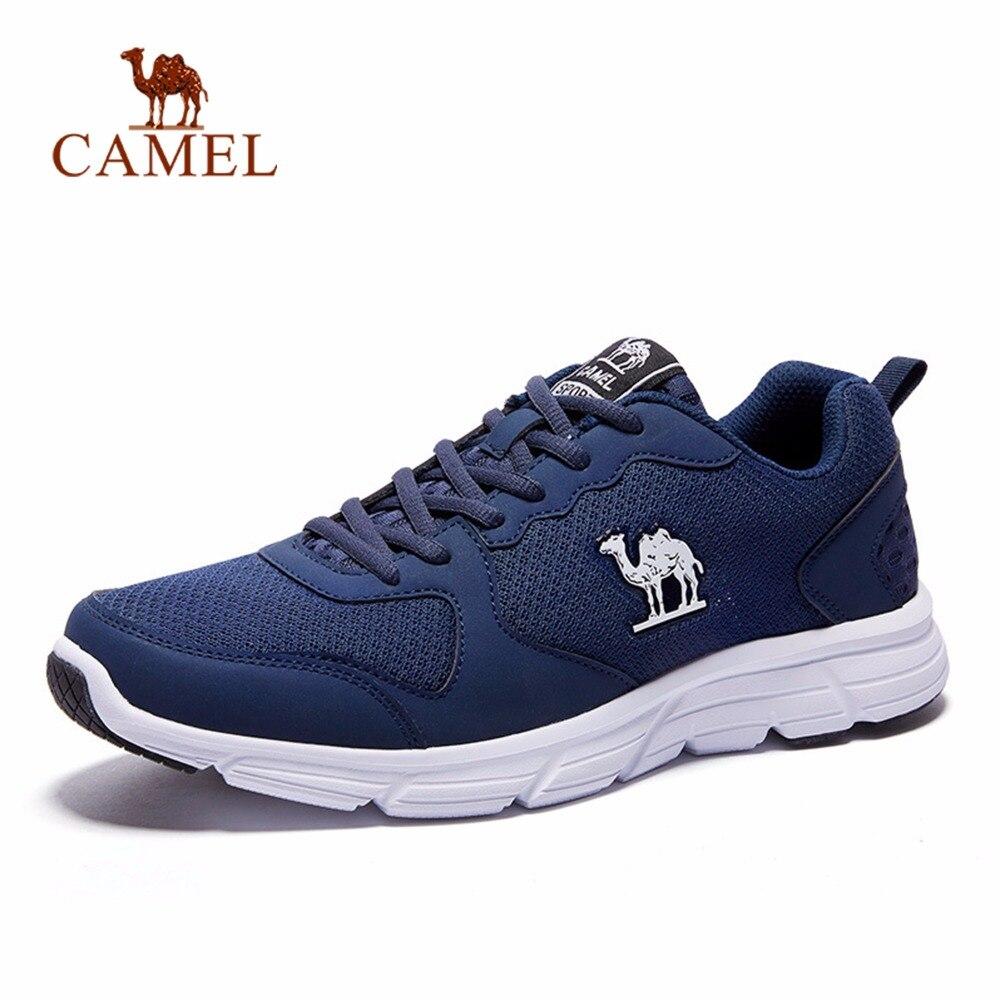 CAMEL Grande Taille Hommes Chaussures De Sport Antichoc décontracté Baskets Respirant Jogging Chaussures de Course