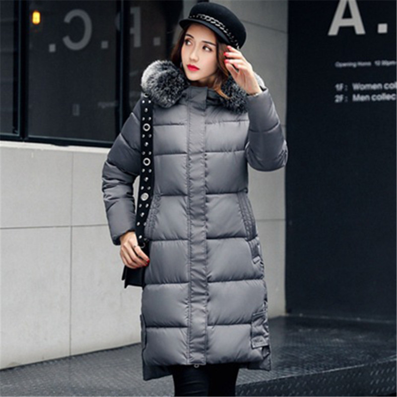 New Jacket Women Winter Coat Medium Long Cotton Padded Warm Jacket Coat High Quality Hot Sale
