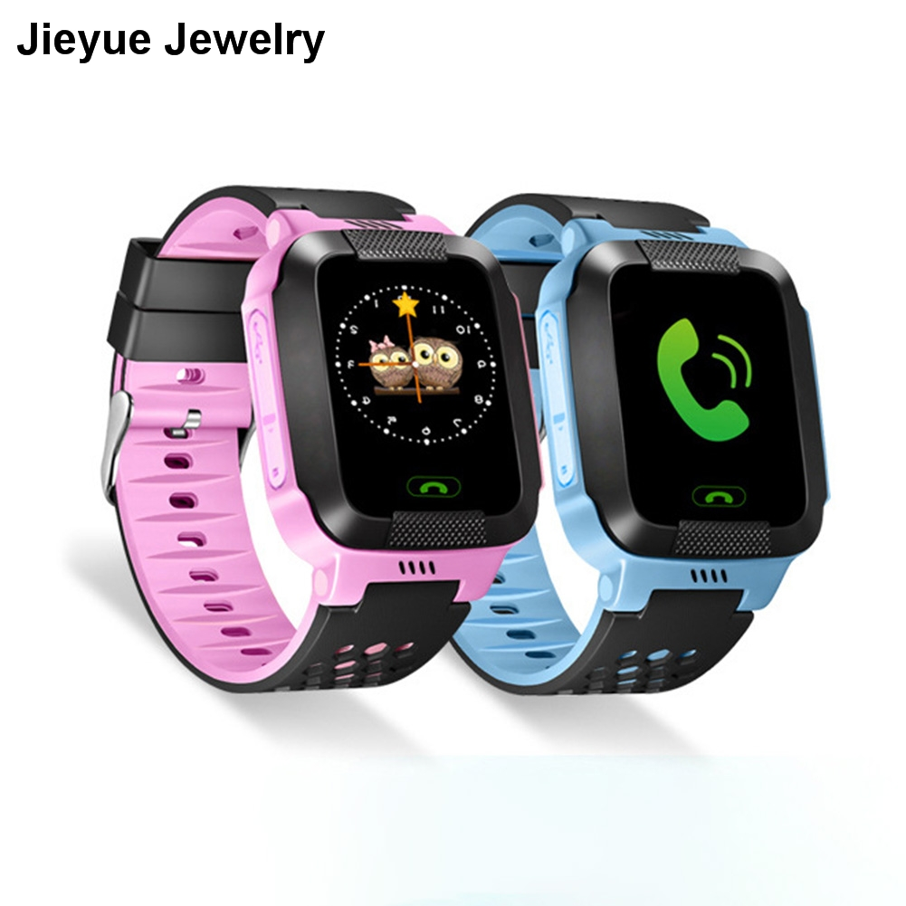 English Version Children Smart Watch Anti Lost GPS Touch Screen SOS Call Location Tracker Wristwatch Safe