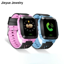 English Version Children Smart Watch Anti-Lost GPS Touch Screen SOS Call Location Tracker Wristwatch Safe Guard Micro SIM Card