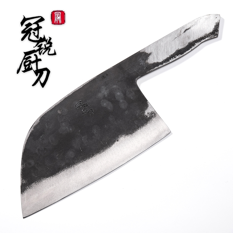Handmade Forged Chef Knife Clad Steel Forged Chinese Cleaver DIY Blank blade kitchen knives meat vegetables