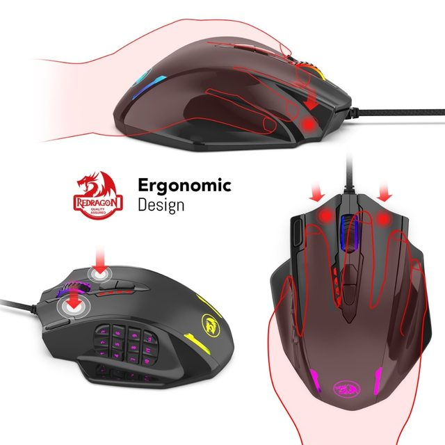 Redragon M908 IMPACT Gaming Mouse 2