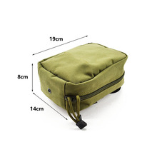 MOLLE Trauma Medical First Aid Kit Pouch EMT Pouch CORDURA Modular Combat Hunting Camping Tactical Hike TW-P017 цена