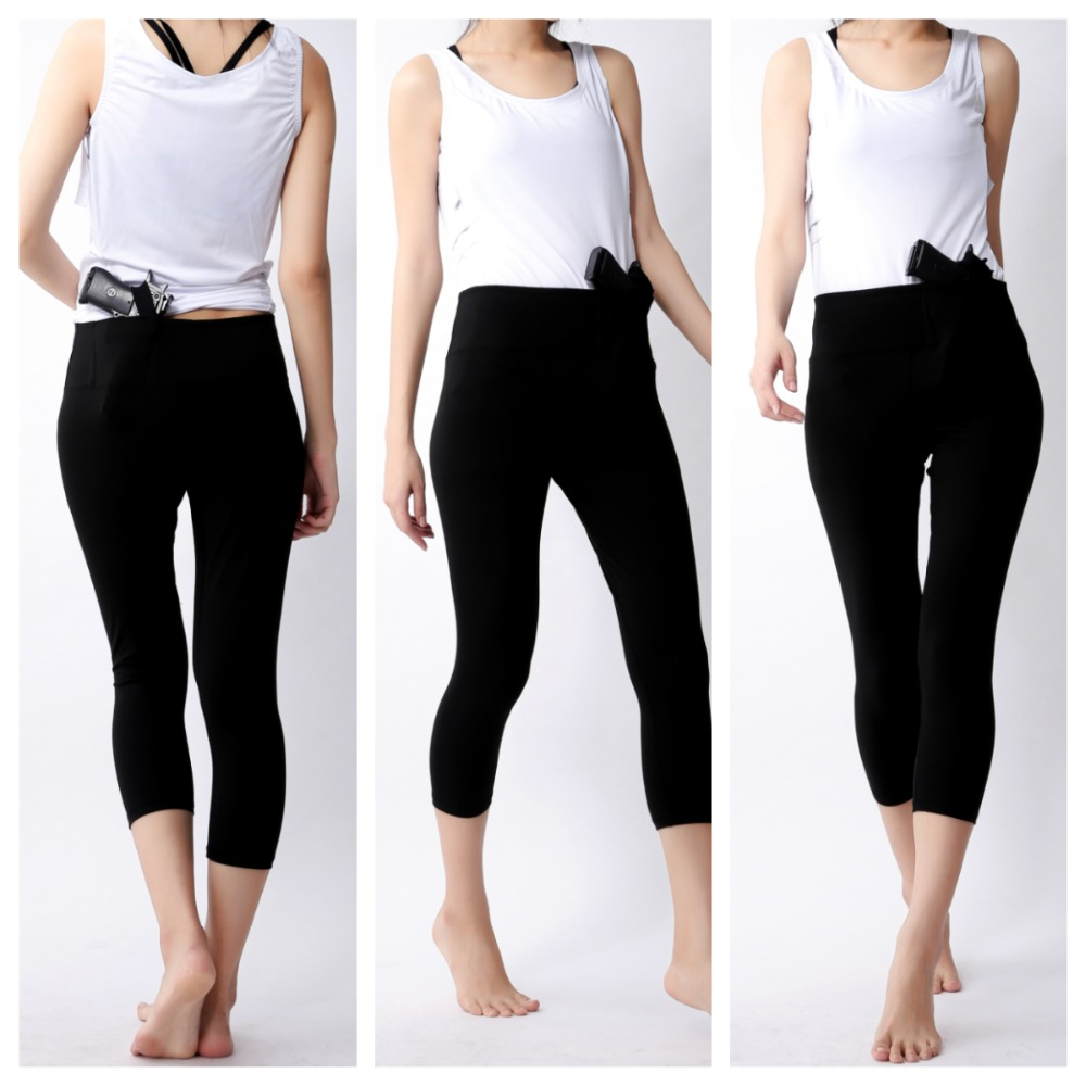Womens Concealed Carry Legging Workout Daily Wear Tactical