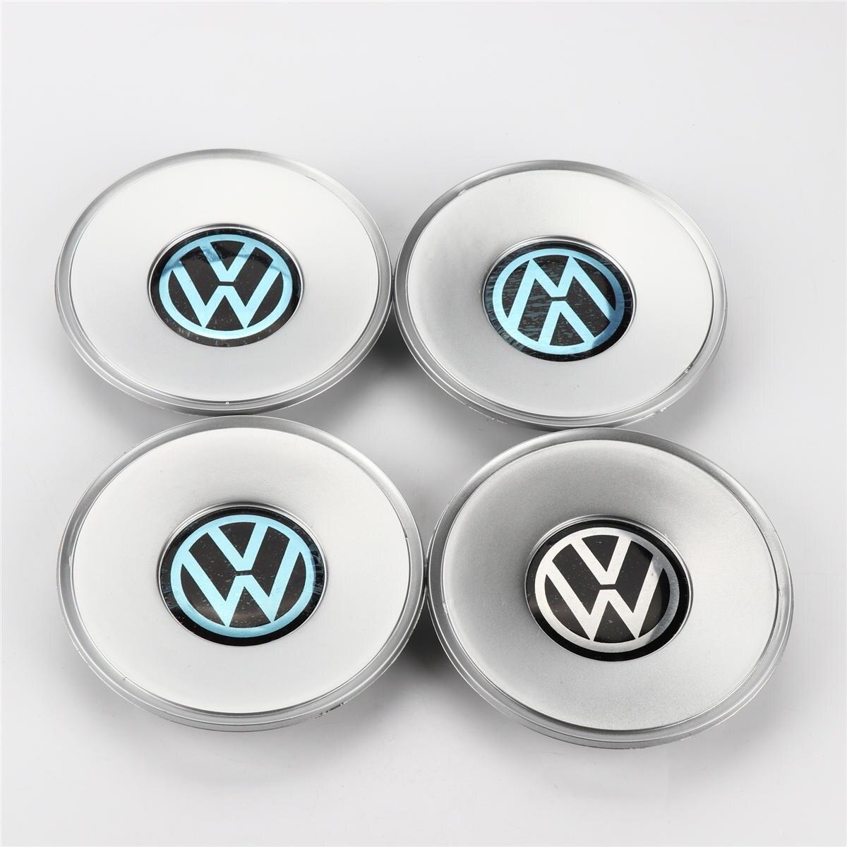 цена на 4pcs Chrome Wheel Center Hub Cap 154mm For VW Passat B5 3B0 601 149