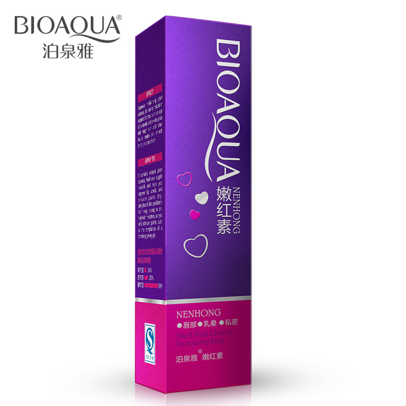 BIOAQUA Intimate Parts Bleaching Pinkish Cream Whitening Body Cream Vigina Lips Nipples Whitening Cream for Private Parts