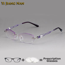 Женские очки с алмазной резкой lunette de vue femme рецептурные