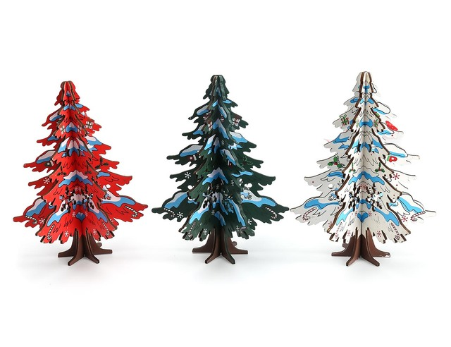 Christmas gifts creative combination three dimensional