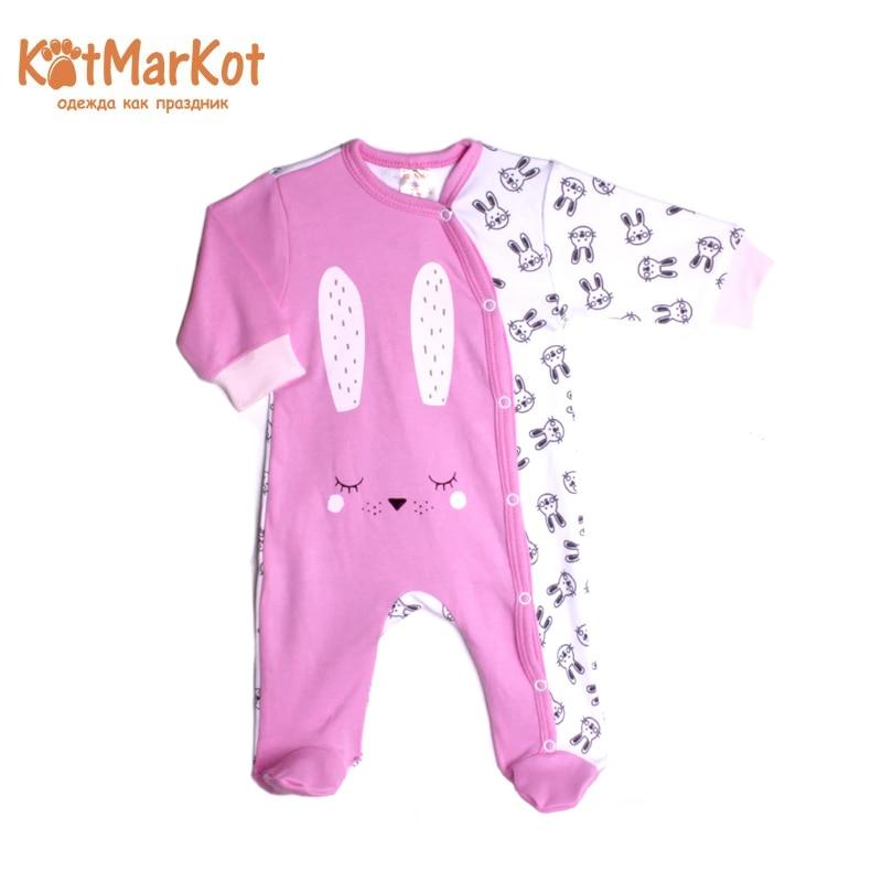 Jumpsuit Kotmarkot 6579  children clothing for baby girls kid clothes newborn baby boy girl infant warm cotton outfit jumpsuit romper bodysuit clothes