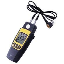 Ultradźwiękowy miernik grubości Tester miernik pomiaru 1.2 ~ 220mm Velocity cyfrowy LCD dla metal stal aluminium miedź szkło żelaza płytki