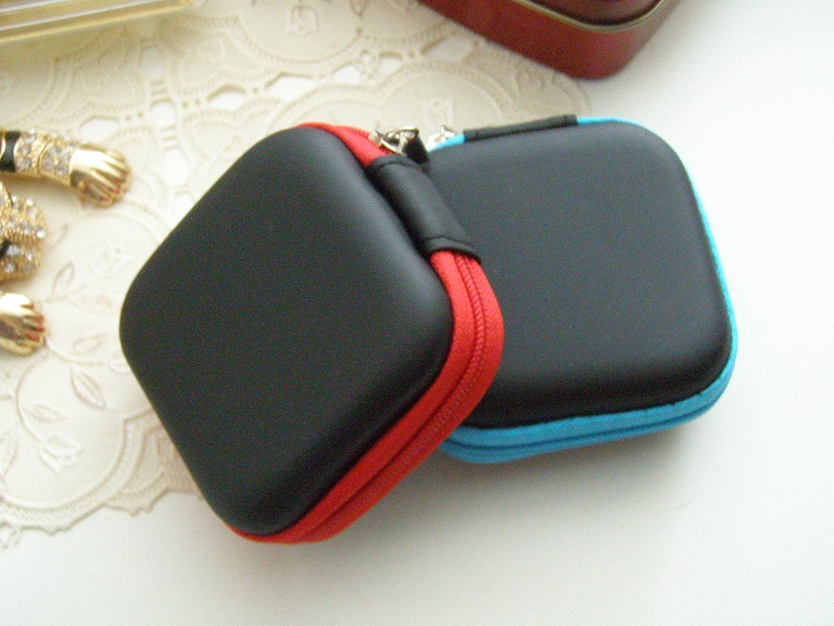1Pcs EVA/PU Storage Case For Earphone EVA Headphone Case Bag Container Cable Earbuds Storage Box Pouch Bag Holder Drop Shipping