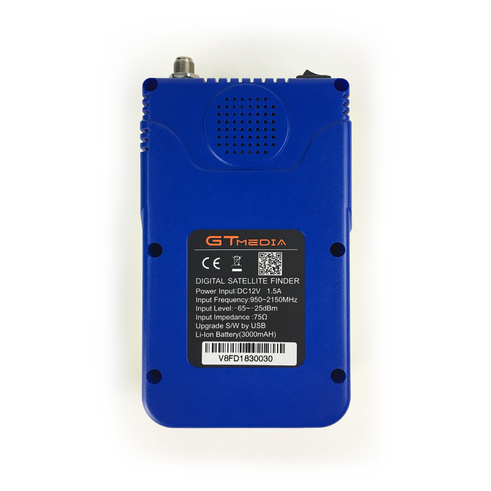 "Image 3 - GTmedia V8 Finder DVB S2 HD 3.5"" LCD Satellite Meter Satellite Finder PK Freesat V8 finder SAT Finder WS 6906 6916 6950 Receptor-in Satellite TV Receiver from Consumer Electronics"