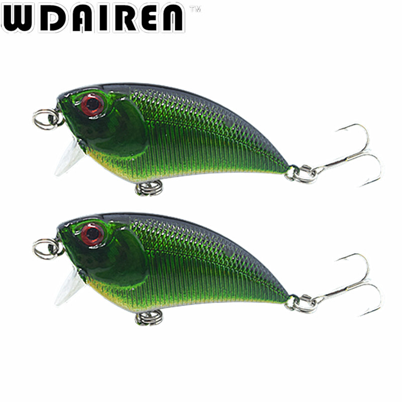 1Pcs 5.5cm 6.6g Bright Colorful Hard Bait Minnow Fishing Lures Tackle 3D Fish Eyes Hooks diving perch wobbler Fishing Accessory 1pcs 16 5cm 29g big minnow fishing lures deep sea bass lure artificial wobbler fish swim bait diving 3d eyes