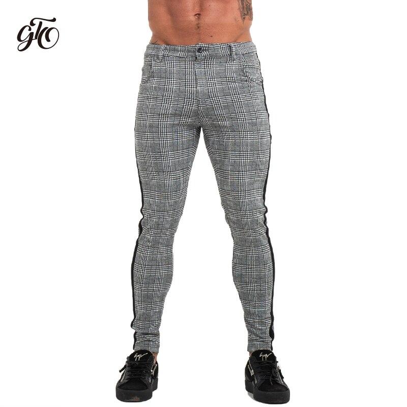 Nouveau Homme Robe Pantalon Skinny Slim Haute taille Casual Long Costume Pantalon Noir