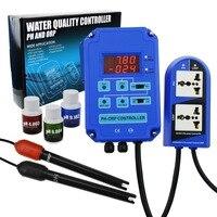 Цифровой pH ORP Redox 2 в 1 Управление ler мониторы w/выход мощность реле Управление, электрод зонд BNC, качество воды метр комплект