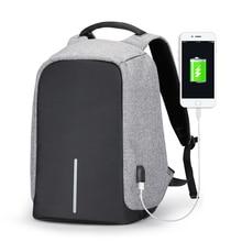Snigir Multifunción USB de carga 16 inch Laptop Mochilas Para Adolescente de Moda Masculina Mochila mochila de Viaje de Ocio anti ladrón