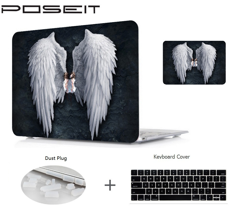 Printing Hard Case Shell +Keyboard Cover Skin For Apple Macbook pro 13 15 Air 11 13 inch touch bar Retina 12 inch laptop case