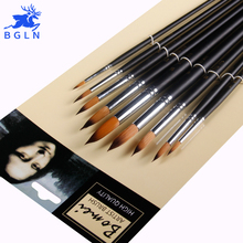 Buy 9pcs Watercolor Paint Brush Set Nylon Hair Painting Brush For Drawing Different Size Pointed Pinceles Artist Art Supplies 804 directly from merchant!