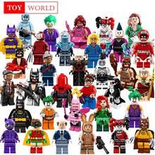 Única Venda Batman Coringa Robin Logan X-Men Super Heróis Blocos de Construção Batman Figuras Brinquedos Compatível Com LegoINGly zk15