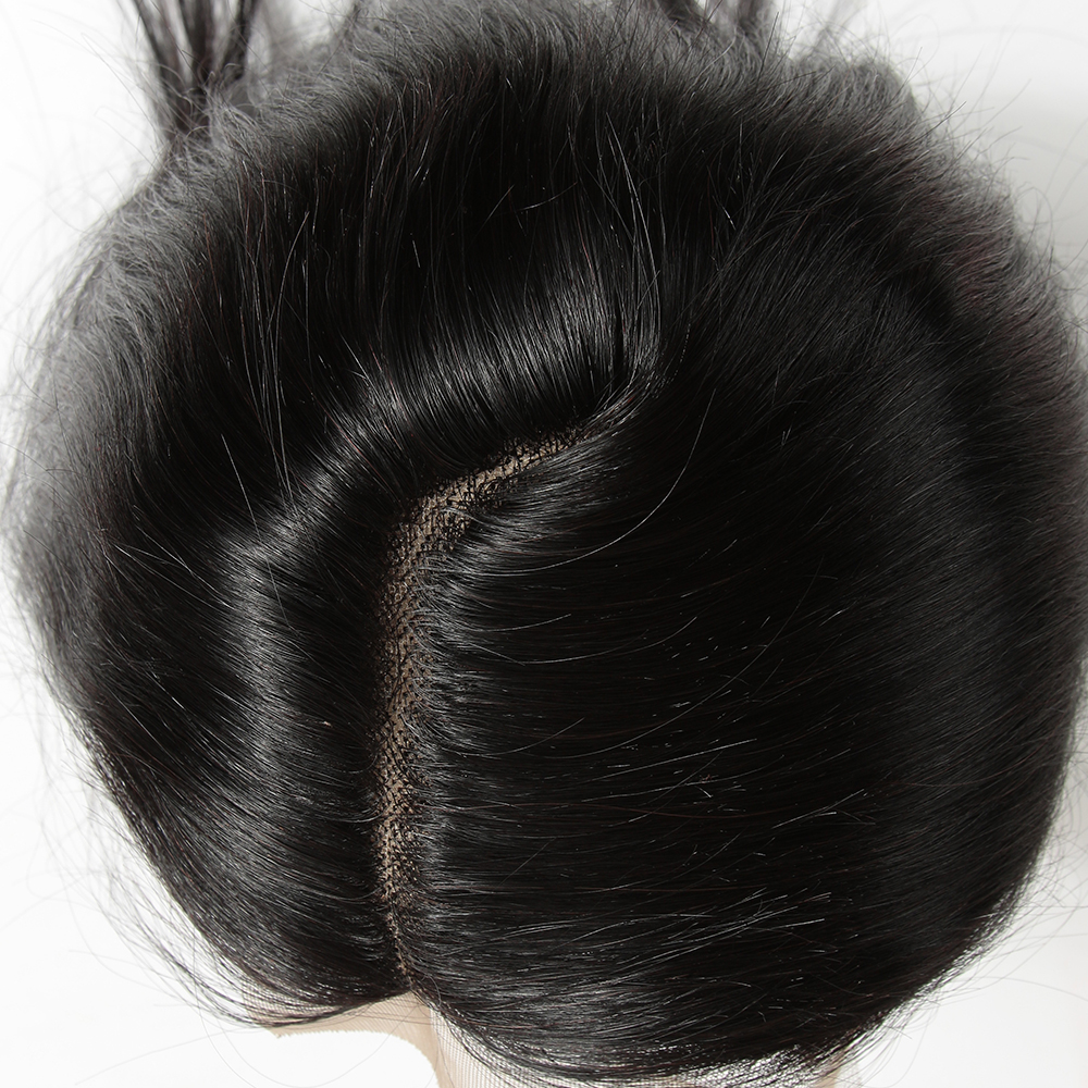 Joedir Hair 5*6 Lace Closure L Part 100% Malaysian Straight 100% Remy Human Hair Closure With Baby Hair 10-20Inch Natural Color