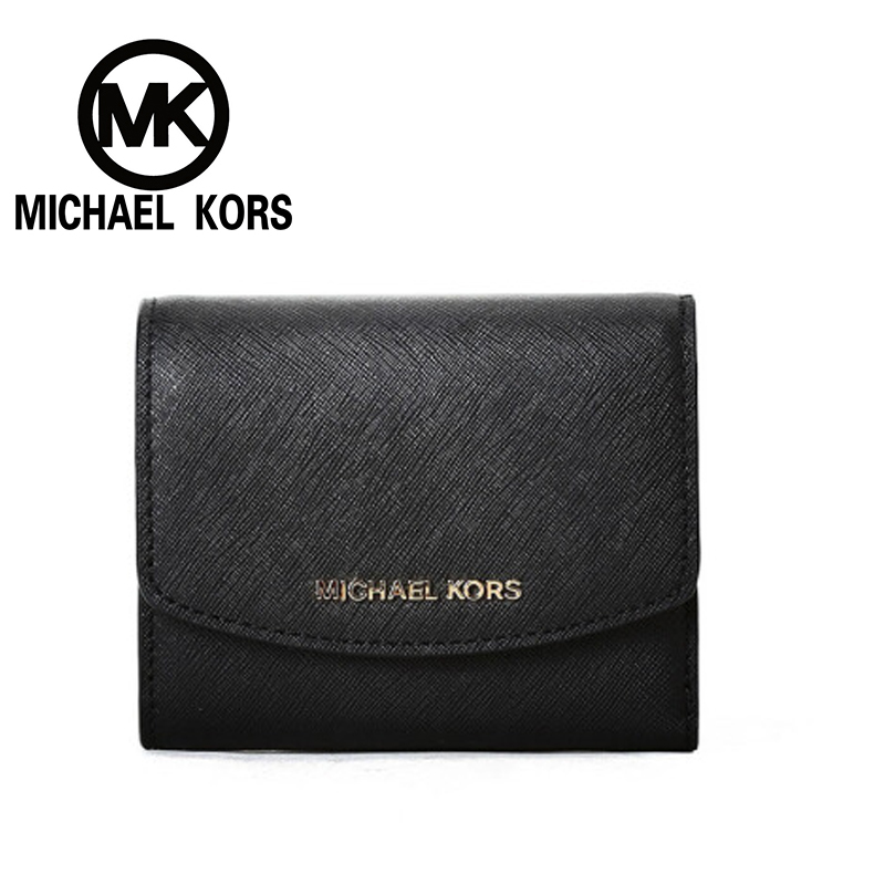 MICHAEL KORS 2018 Official MK Fulton Womens Travel Leather Carryall Wallet Wallets Coin Purse Wallet Male Money Purses ...