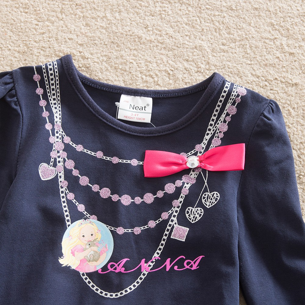 Baby κορίτσια φορέματα με μακριά - Παιδικά ενδύματα - Φωτογραφία 3