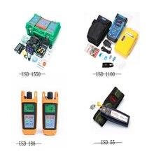 Optik fiber füzyon splicer, OTDR, optik güç ölçer, optik işık kaynağı ve görsel flaut bulucu kombinasyonları