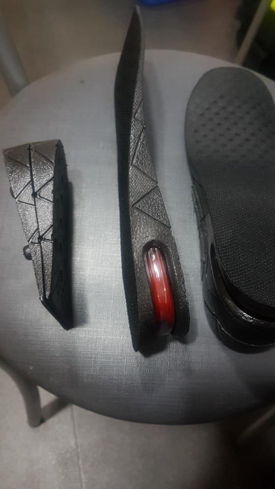 Adjustable Height Increasing Shoe Insoles - Heel Lifter Set