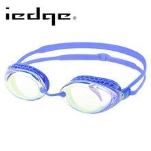LANE4 Iedge Myopia Swimming Goggles Anti-Fog UV Protection Waterproof Mirror Coating #94090 Eyewear
