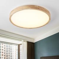 LED Ceiling Light Modern Lamp Panel Living Room Round Lighting Fixture Bedroom Kitchen Hall Surface Mount Flush Remote Control