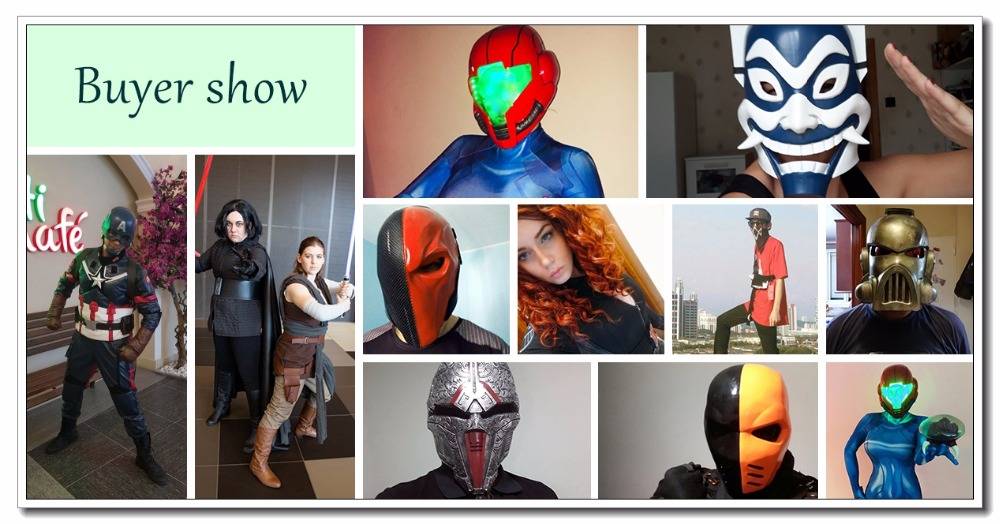 XCOSER cosplay resina horror 24
