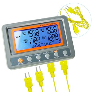 Image 5 - 4 Channel  328~2498 degree C/F K Type Thermocouple 8GB SD Card Temperature Wallmount Thermometer Logger
