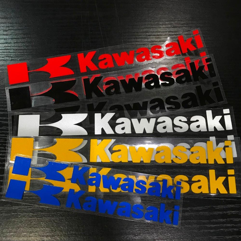 Kawasaki Ninja ZX12R ZX10R ZX9R ZX7R ZX6R 650 250 300 Skull yellow Decal Set