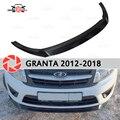 Сплиттер на переднем бампере для Lada Granta 2012-2018 пластик ABS украшения аксессуары Тюнинг автомобилей настраиваемая пластина крышка