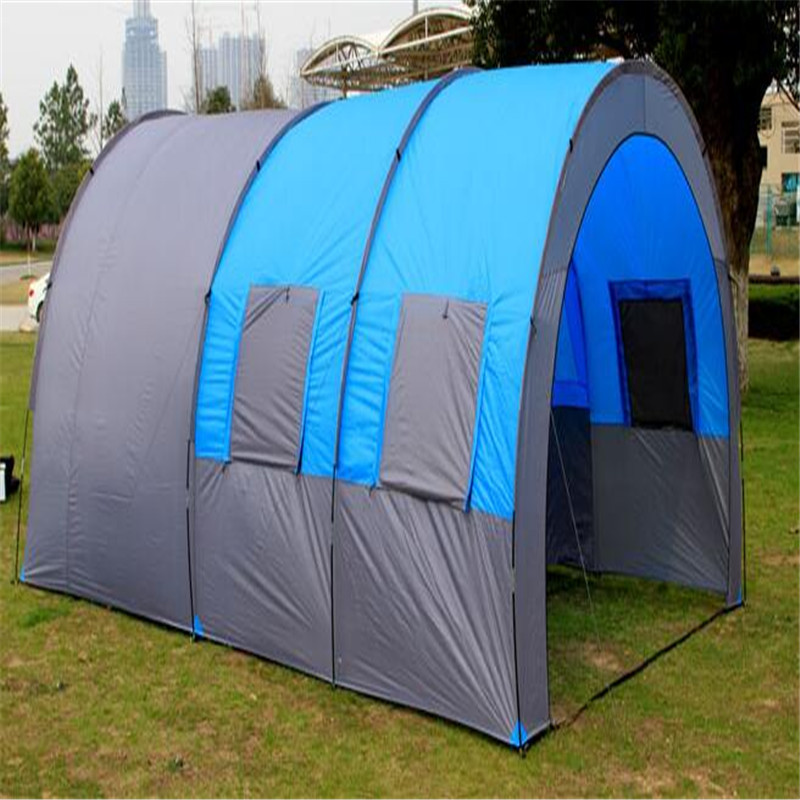 Best Deal  8-10 People Waterproof Portable Travel Camping Hiking Double Layer Oxford Cloth High Strength Outdoor Tent клей активатор для ремонта шин done deal dd 0365