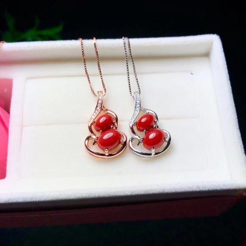 KJJEAXCMY boutique bijoux 925 pur argent incrusté naturel émeraude pendentif argent collier support détection