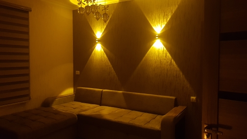Luminárias de parede Material Alumínio Abajur