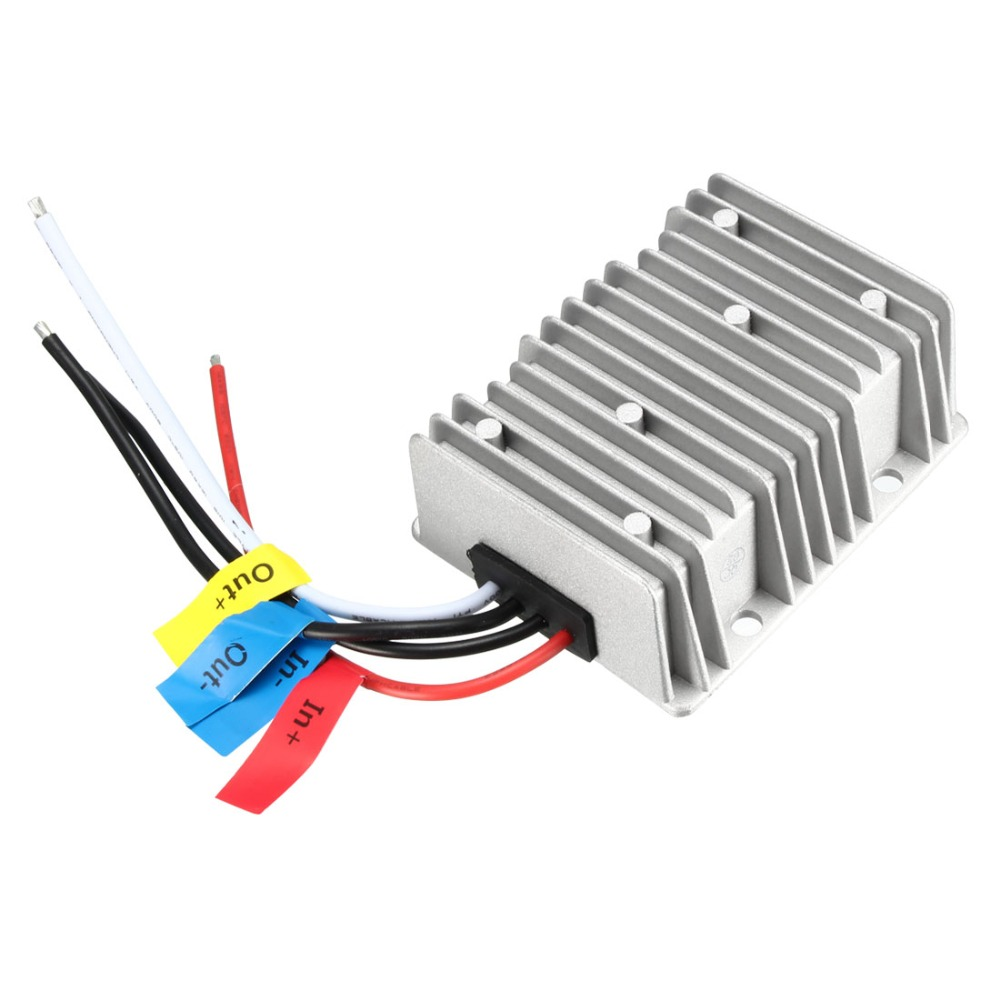 BIG-Size Voltage Buck Converter Regulator <font><b>DC</b></font> <font><b>24V</b></font> Step-Down to <font><b>DC</b></font> 12V 25A 300W Waterproof Power Transformer <font><b>Adapters</b></font> Supplies image