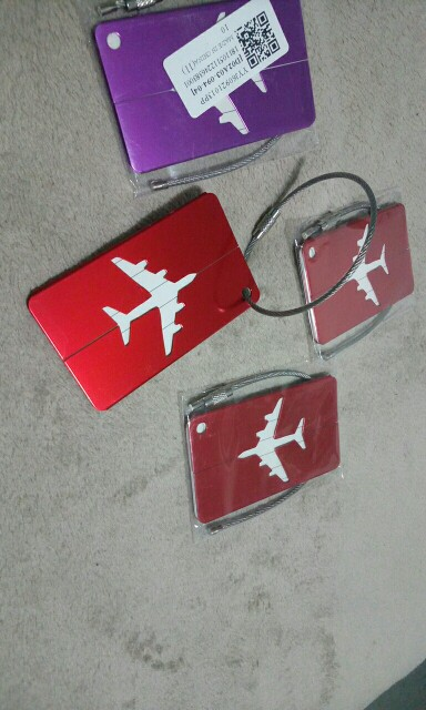 Nieuwe stijl Vliegtuig Vorm Vierkant Bagage Tag Bagage Ge?nstalleerd Boarding Liften multicolor Accessoires bolsa feminina photo review