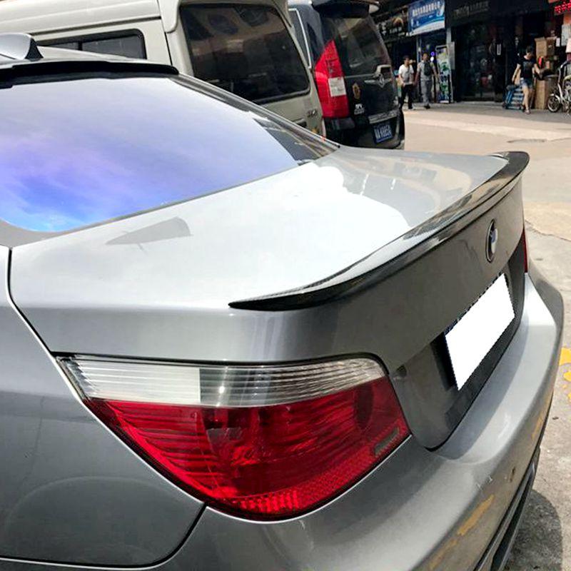 Para BMW E60 SpoilerS Asa Traseira Do Carro Spoiler ABS material de Alta Qualidade Para BMW E60 M5 520 525 528 535 spoiler 2008-2011