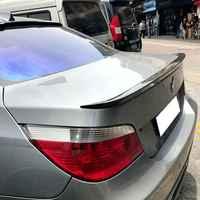 Para BMW E60 Spoiler de material de ABS de alta calidad coche ala trasera SpoilerS para BMW E60 M5 520, 525, 528, 535 spoiler 2008-2011